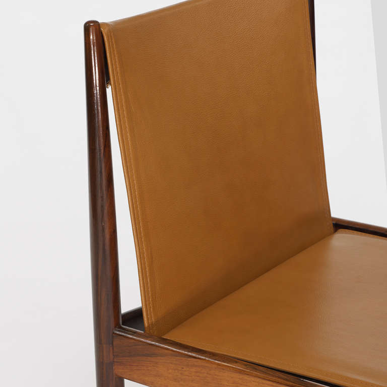 Cantu Chairs by Sergio Rodrigues, detail