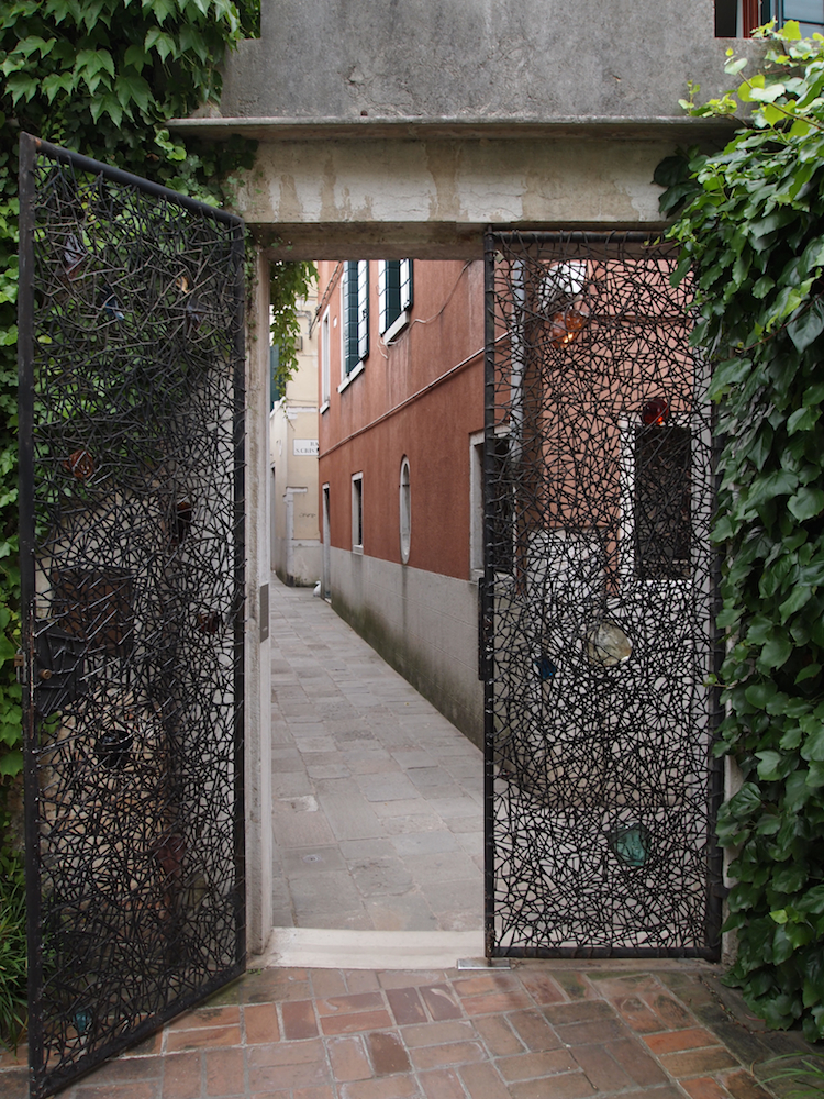 Gate at the Peggy Guggenheim Museuem