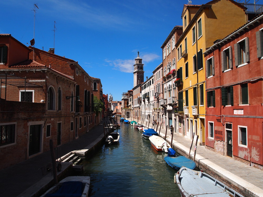 Beautiful Venetian canal.