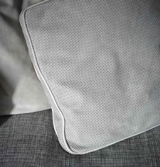Baxter sofa cushion detail