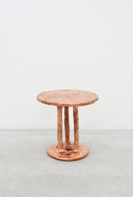 Copper Table, by Max Lamb, 2014.