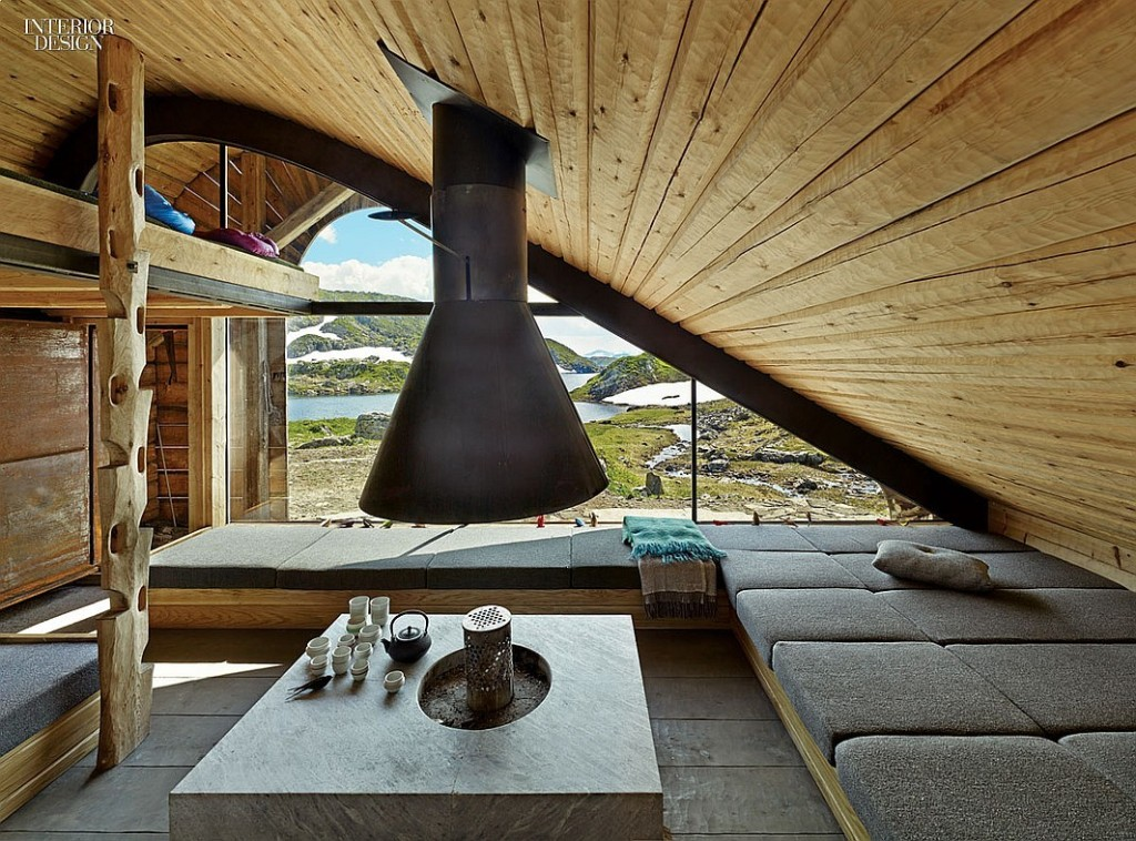 A home in Norway's Fjord's by Snøhetta architects (designers of the home of the new SFMOMA).