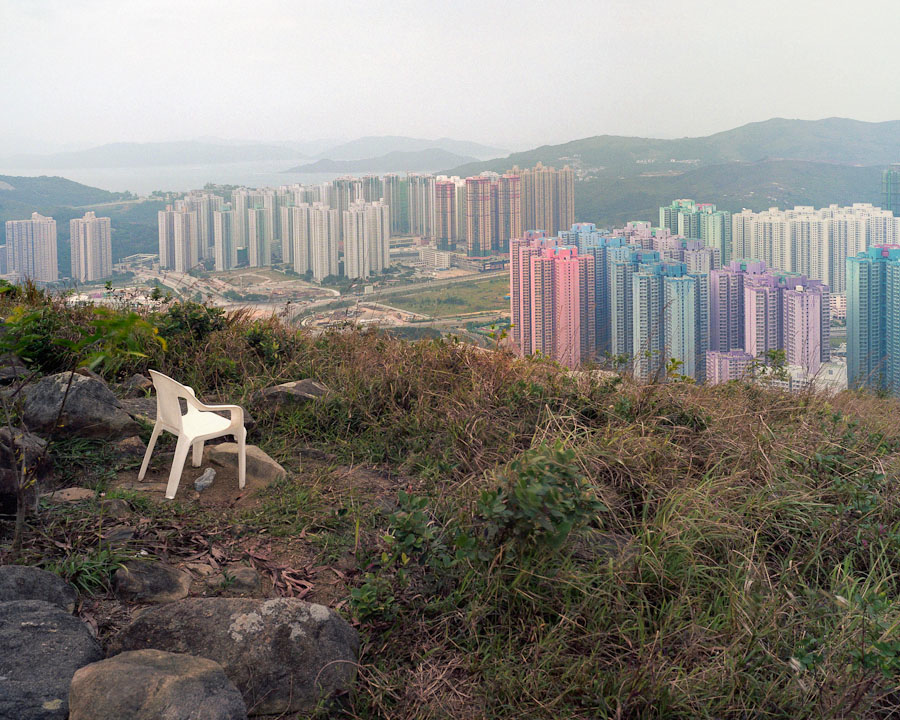 Hong Kong as captured by Michael Wolf.