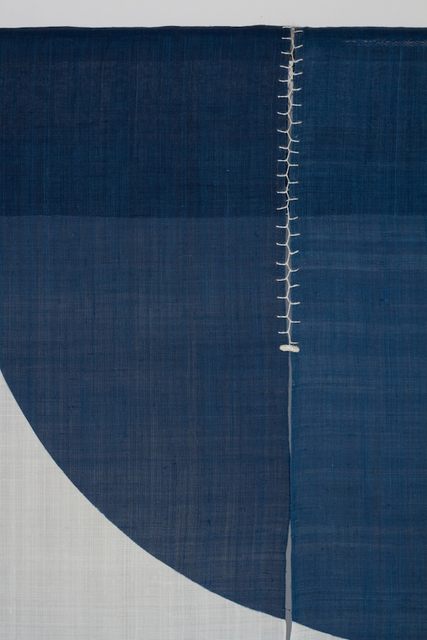 Noren Partitions 29, Detail by Ricketts Indigo