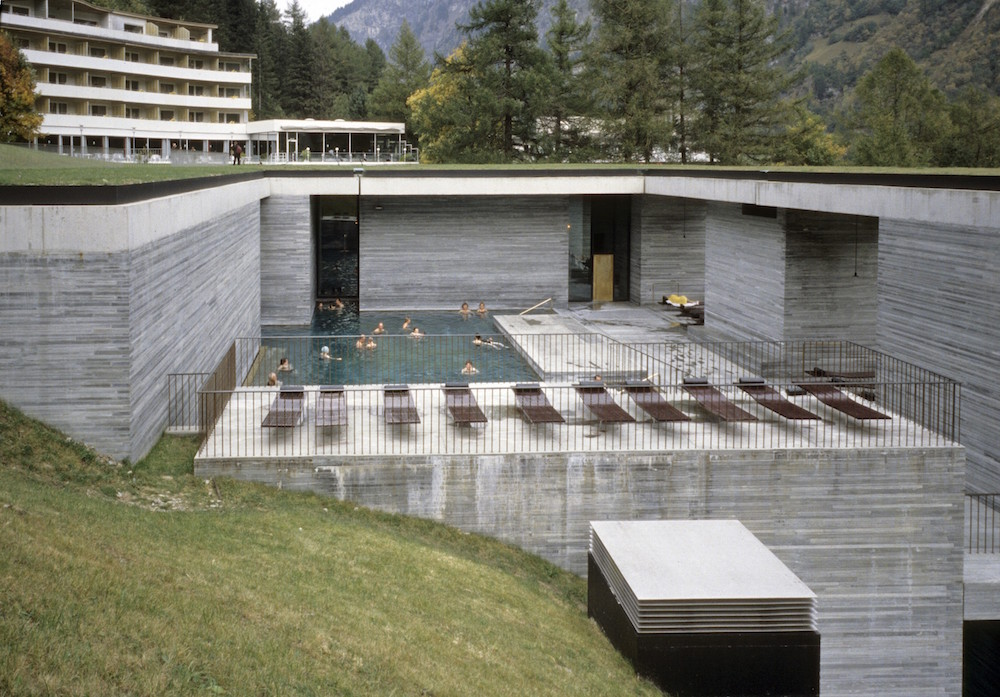 Therme Vals, outdoor
