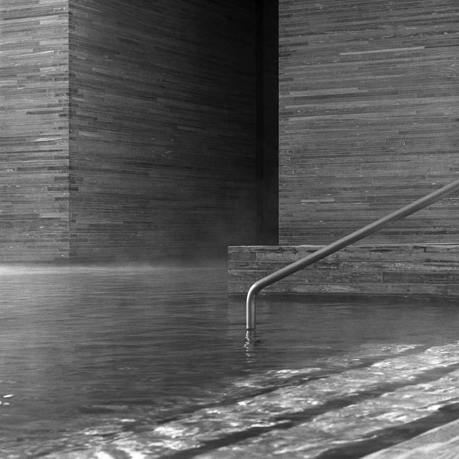Therme Vals, pool detail