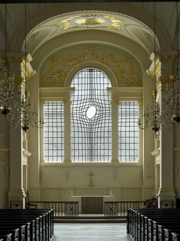 East Window by Shirazeh Houshiary in St. Martin In-The-Field