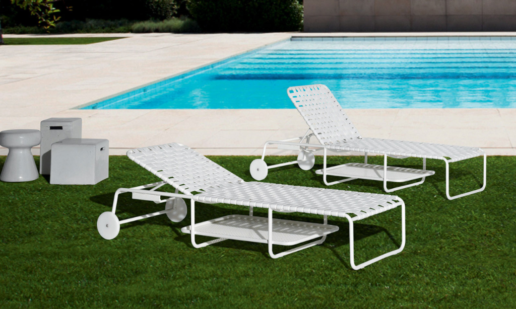 Retro-lounge chairs by Gervasoni.