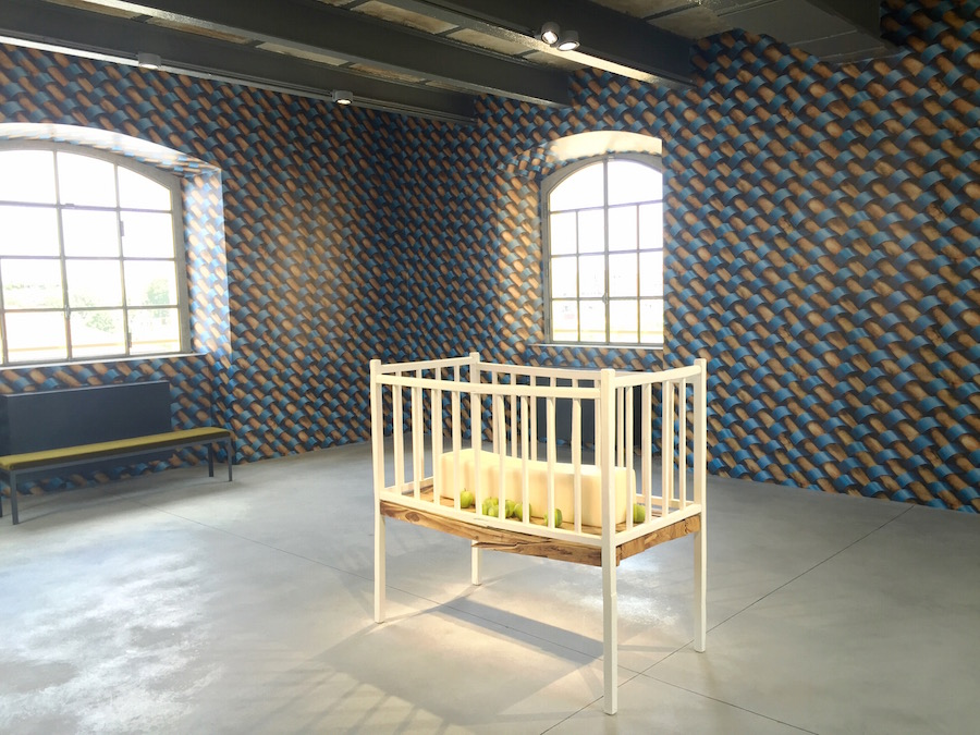 Installation by Robert Gober in the Haunted House