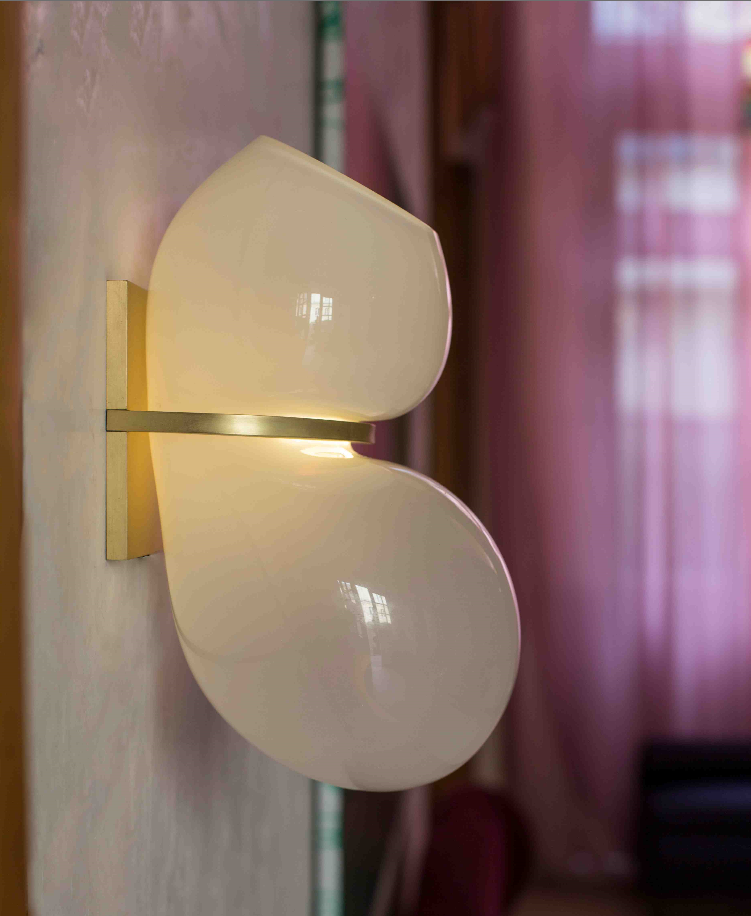 Wall light Catch, by Lindsey Adelman