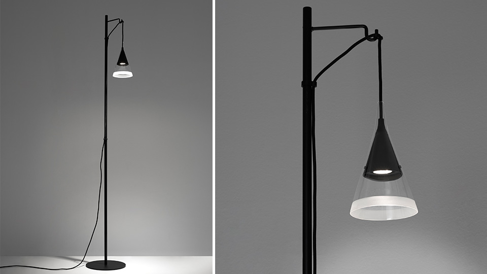 David Chipperfield has designed a range of minimalist lights, including this floor lamp.