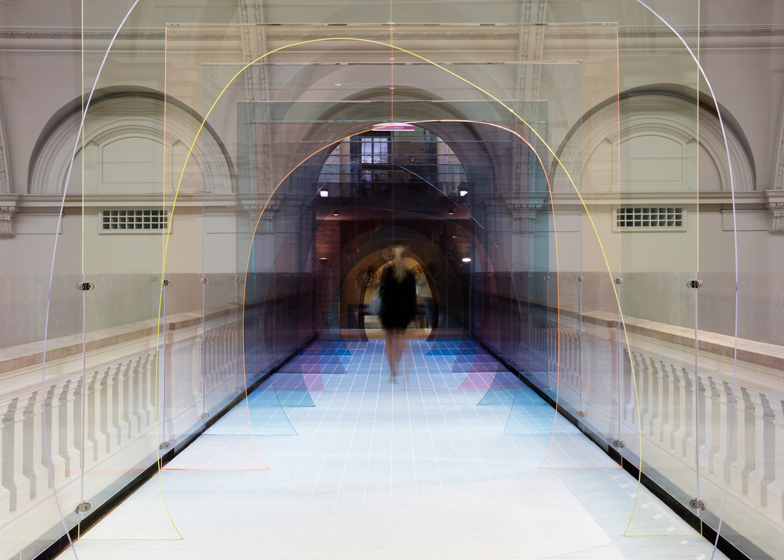 Matteo Fogale and Laetitia de Allergri design bridge for V&A Museum 5