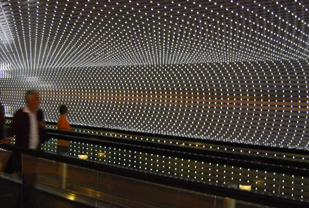 National Gallery, LEDS, wood, custom software, electrical hardware, #leovillareal