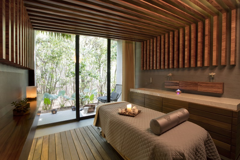 Cenote Spa treatment rooms