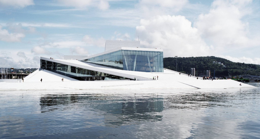A view of the #Snohetta designed #OsloOperaHouse. #bjornstudio