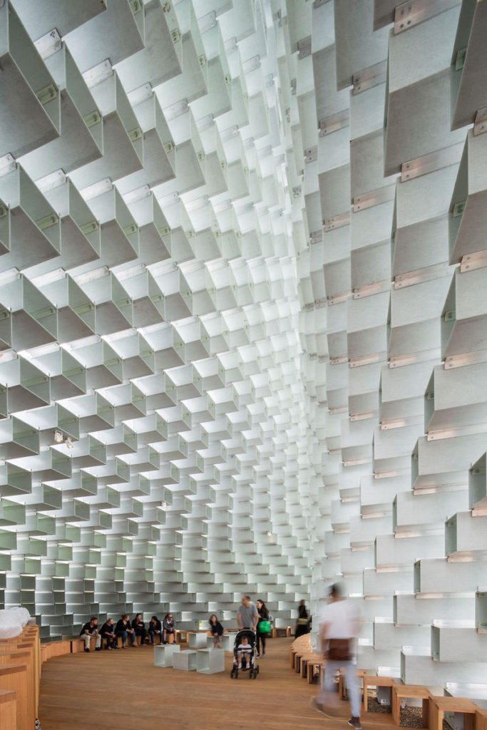BIG, Serpentine Gallery Pavilion London interior, Bjorn Studio