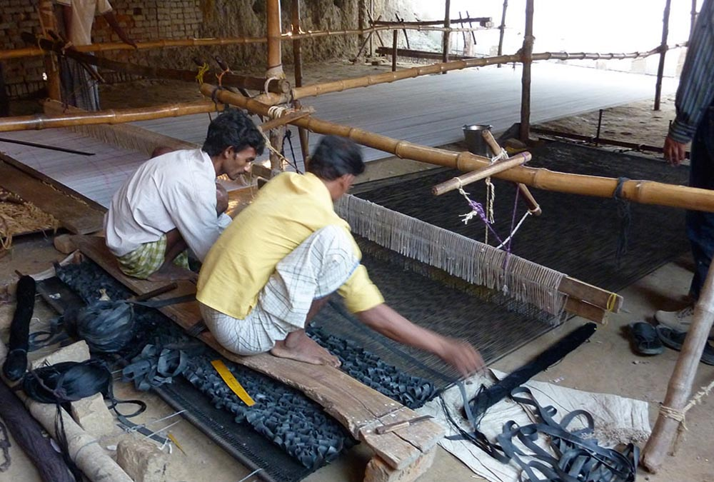 Nani Marquina's rugs are all made India, supporting traditional industries. #bjornstudio