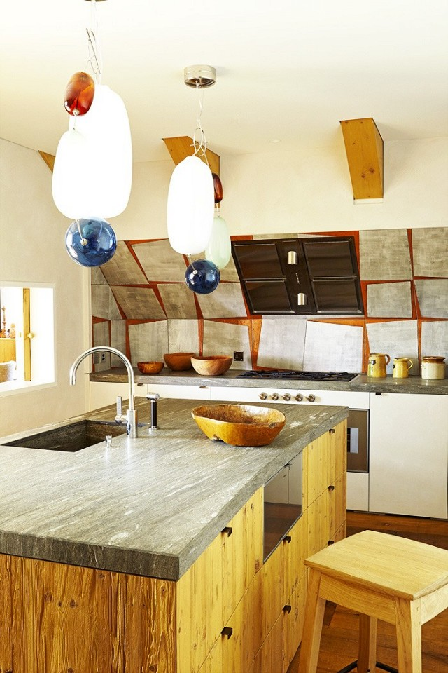 Chalet in Andermatt, Uri Canton, Switzerland, Pierre Yovanovitch, kitchen