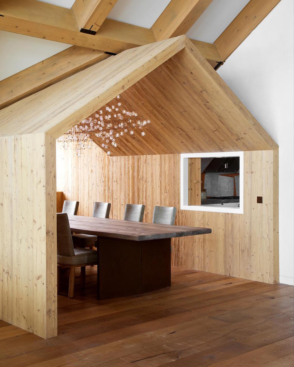 Chalet in Andermatt, Uri Canton, Switzerland by Pierre Yovanovitch, #bjornstudio