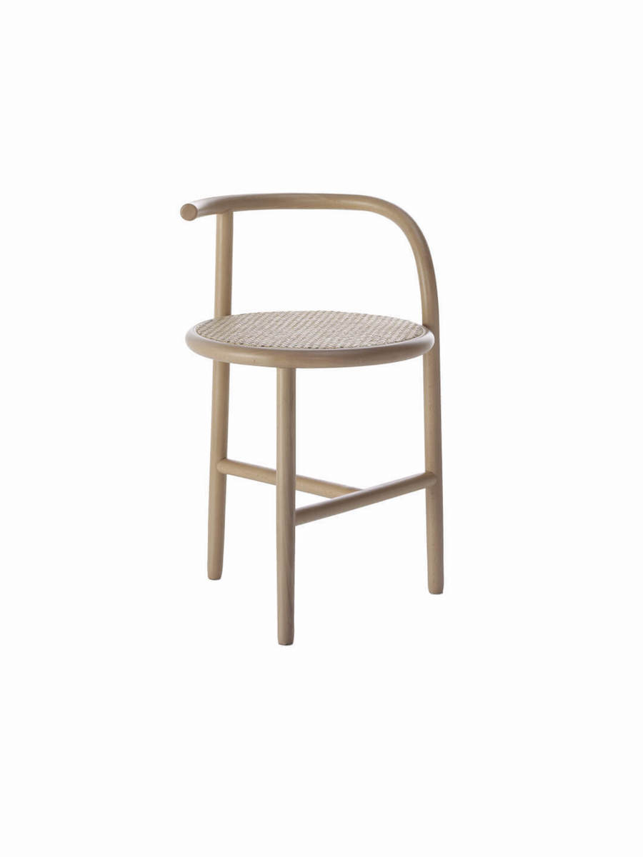 Single Curve Stool by Nendo for Thonet #bjornstudio